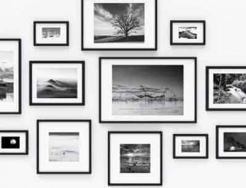 Styling with Black Picture Frames