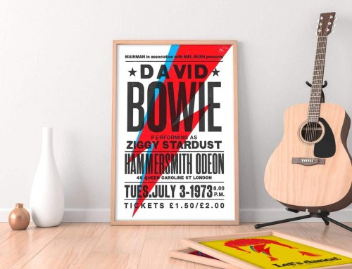 Frame your favourite music memorabilia