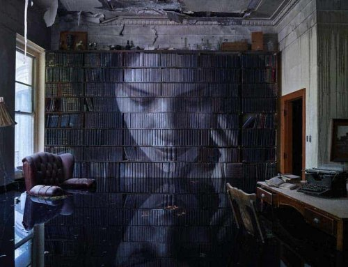 Fall in love with a framed Rone print