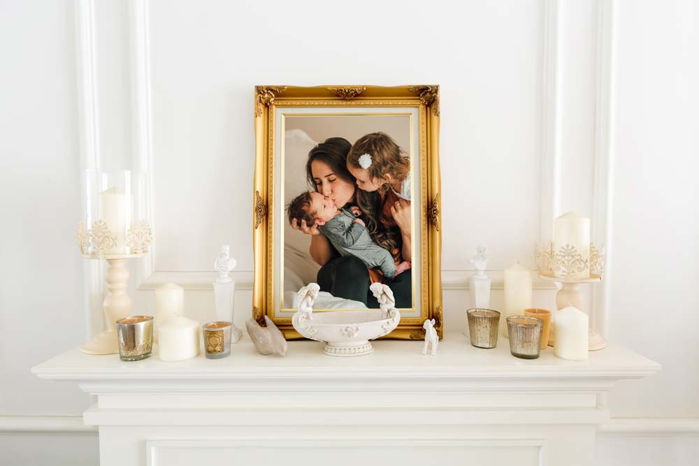 Gold Picture Frame Mother's Day