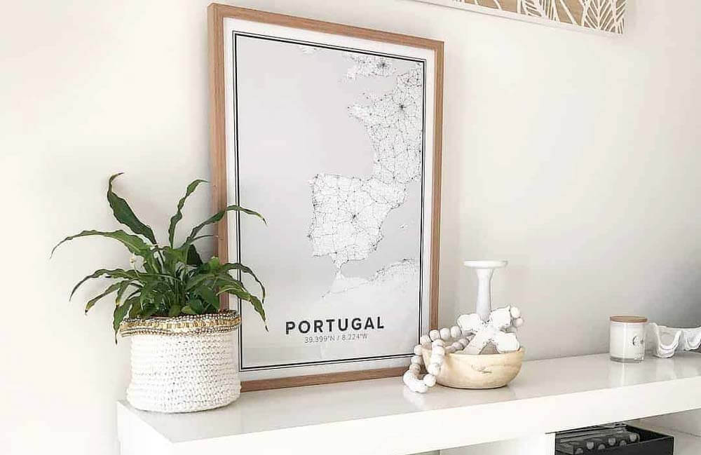 Mapiful Poster Frames
