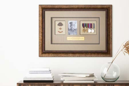 Framing War Medals, Badges and Identity Discs