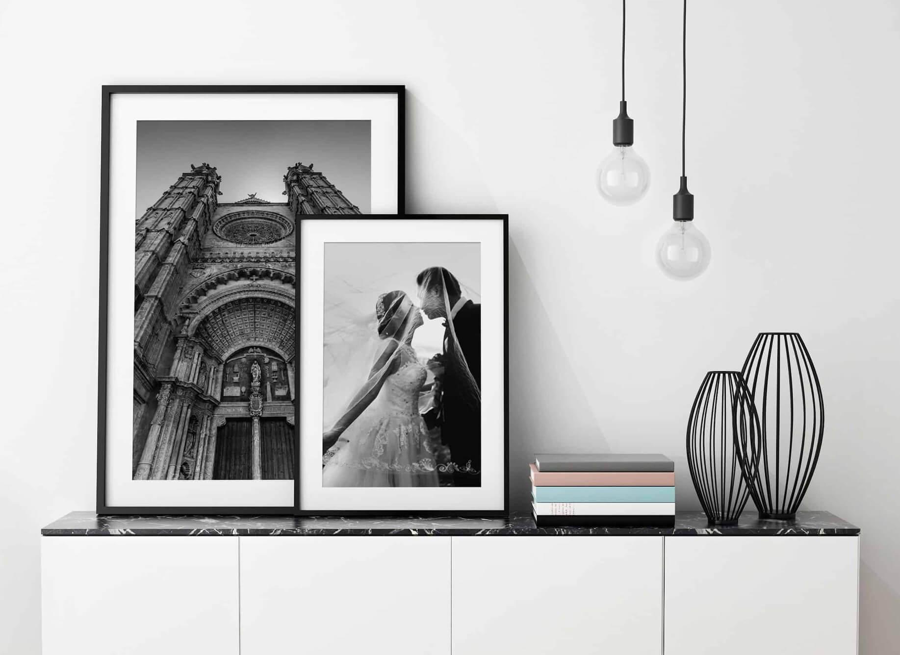Minden Village picture framing