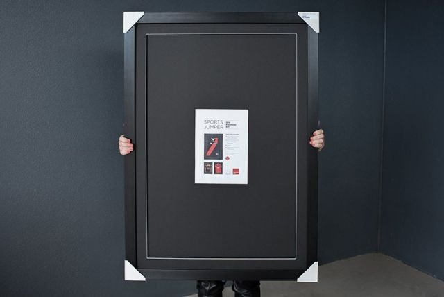 How To Frame a Jersey