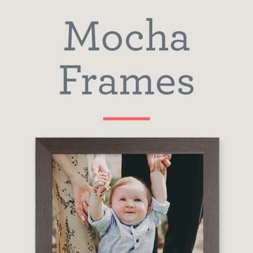 Mocha Picture Frames