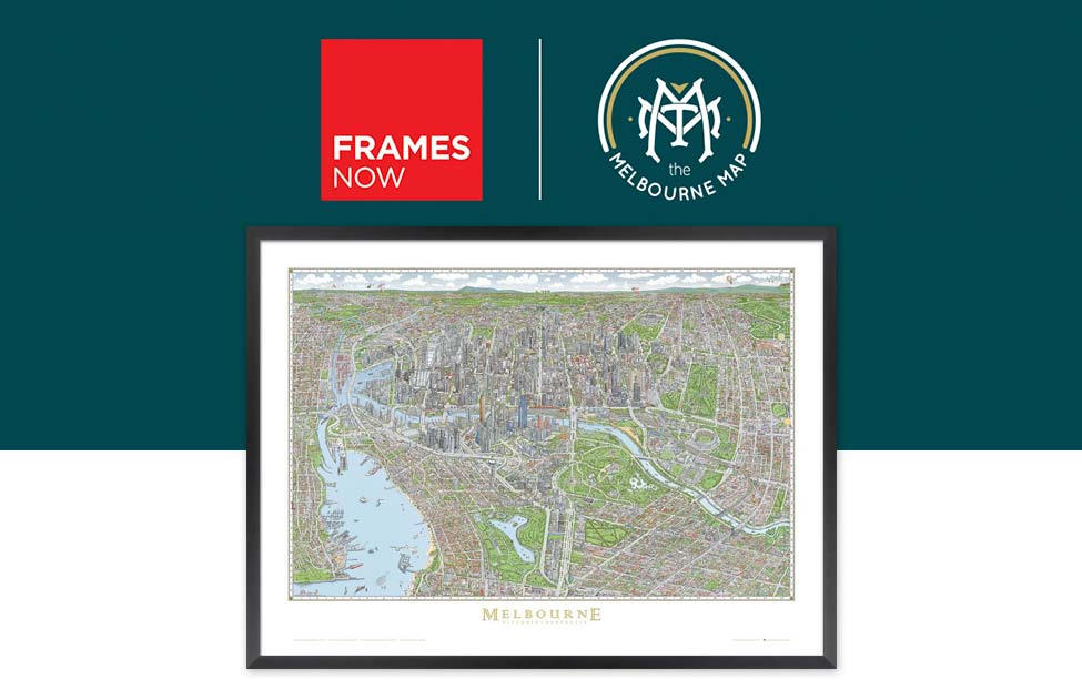 Mlebourne Map Frames Now Fire Relief