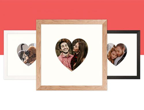 Introducing: The Valentine's Day Love Heart Frame