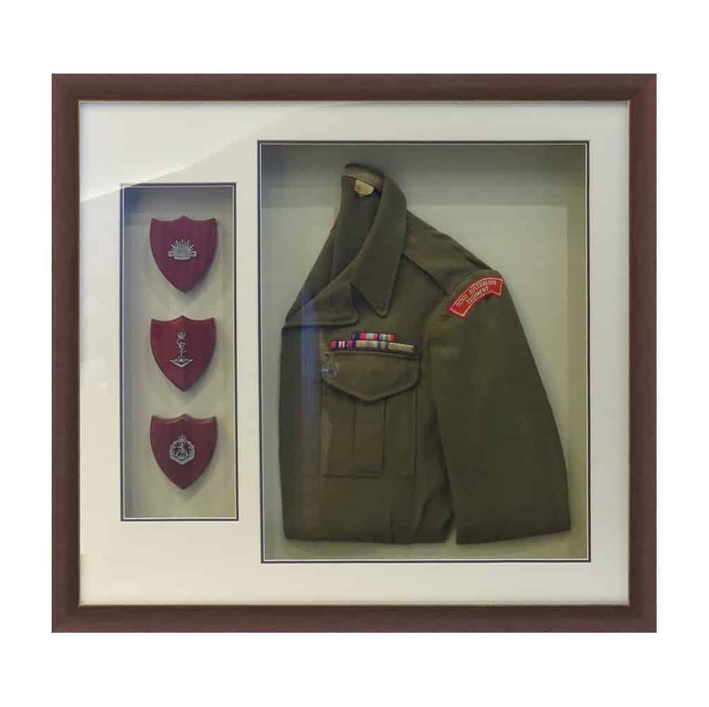 framing war medals