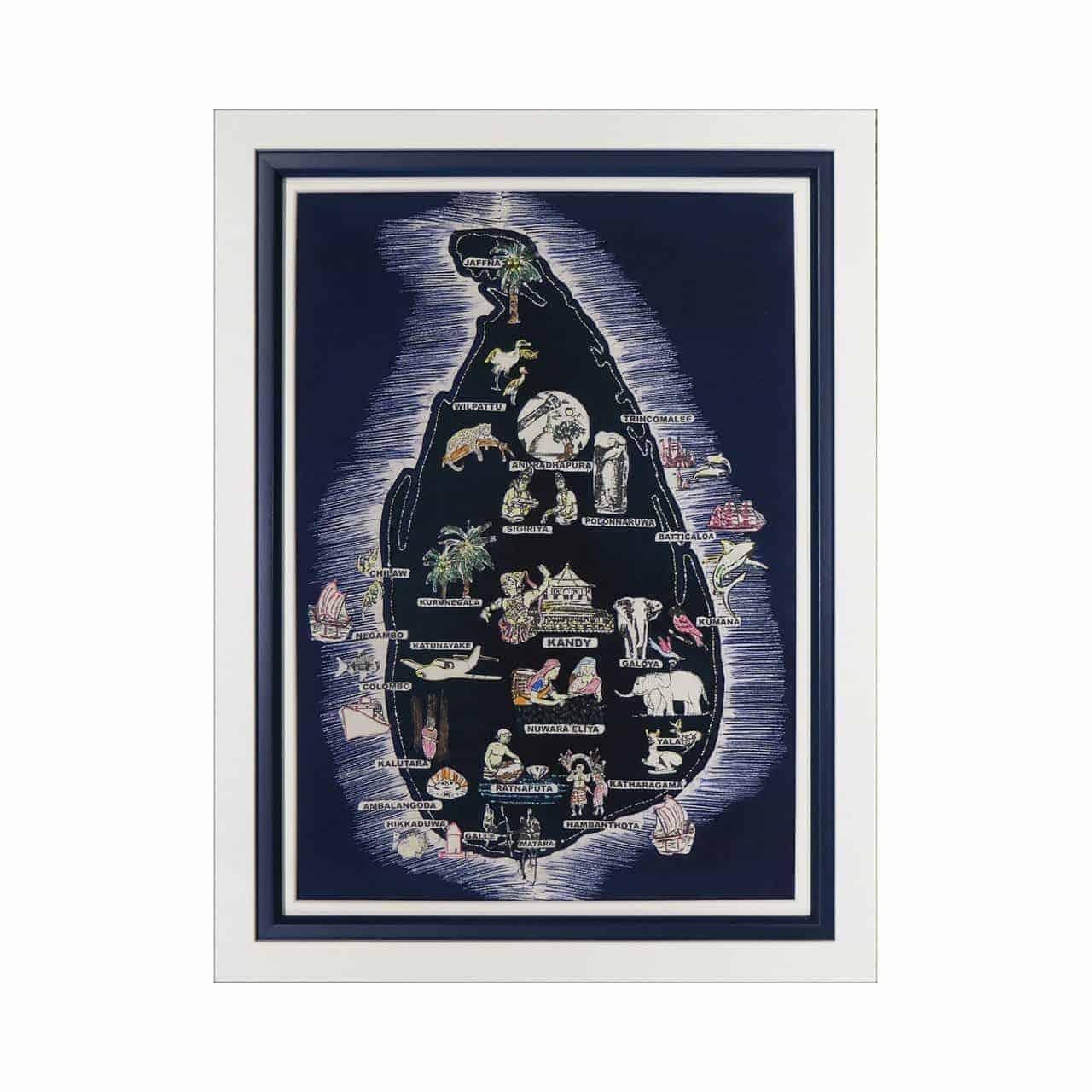 batik painting frame