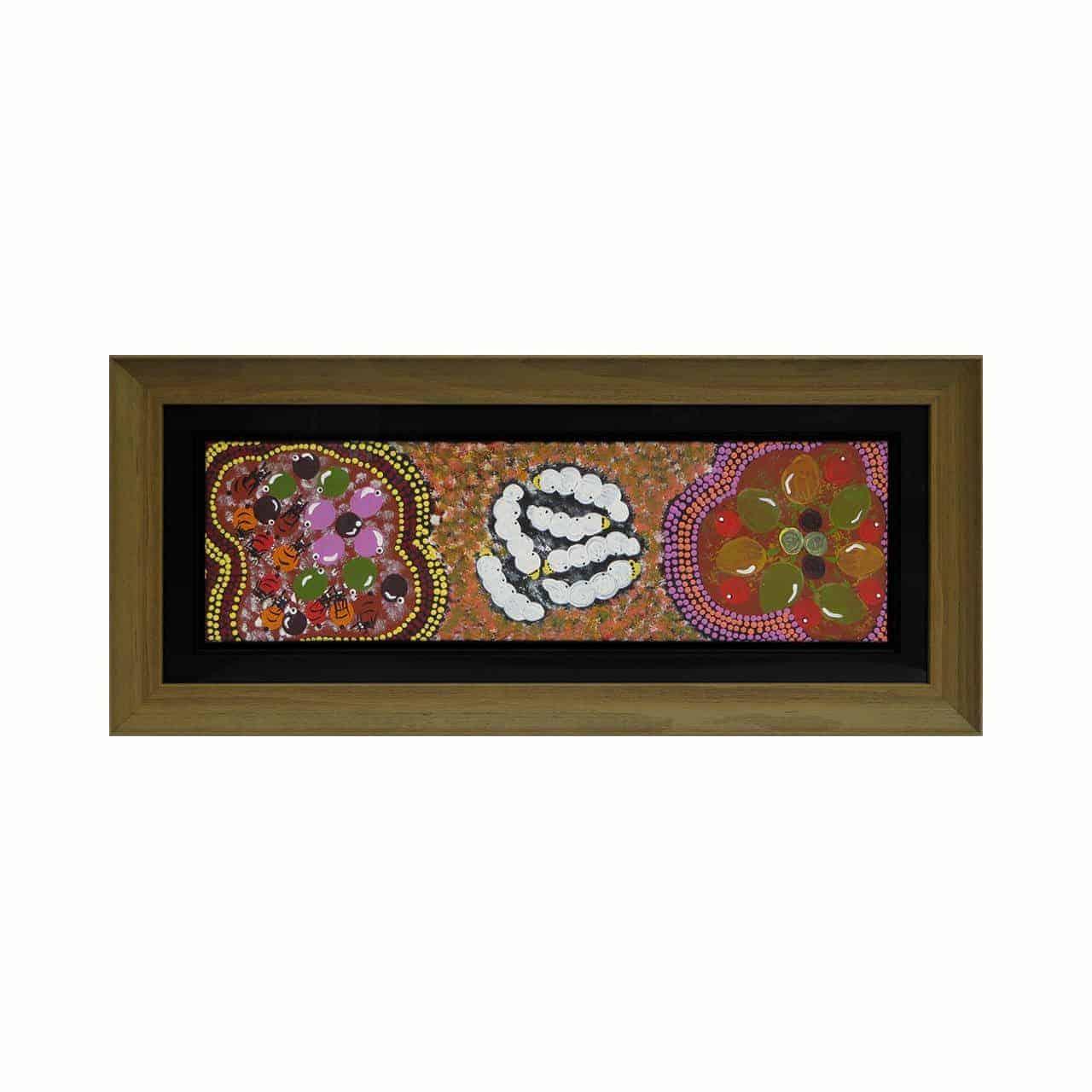 Aboriginal art framing