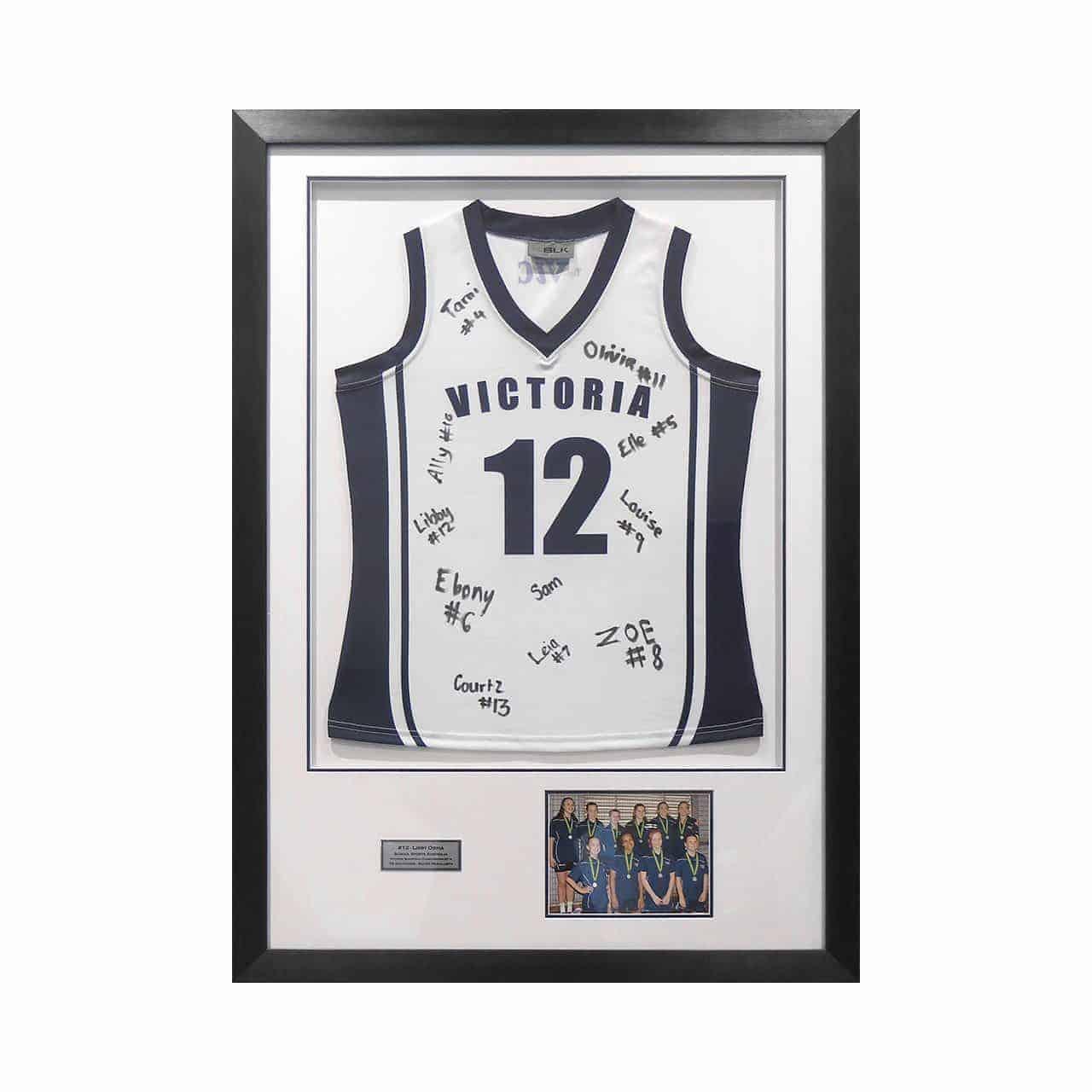 Basketball Memorabilia Framing
