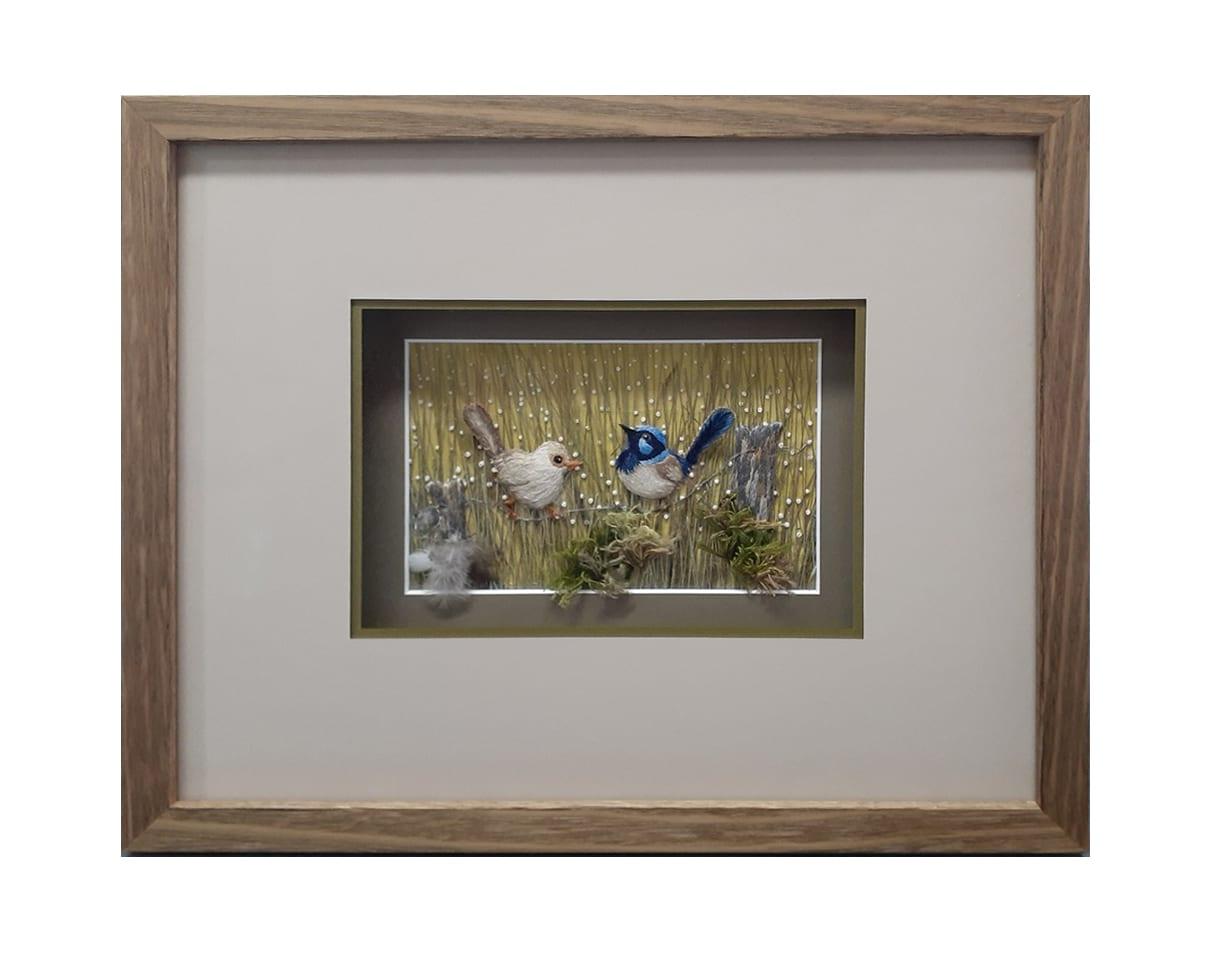 Framing Papyrus artwork