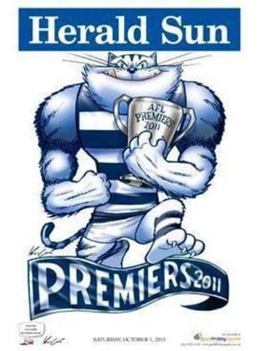 Mark Knight AFL Premiership poster